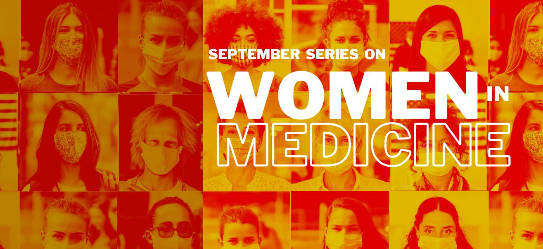 Women in Medicine graphic.